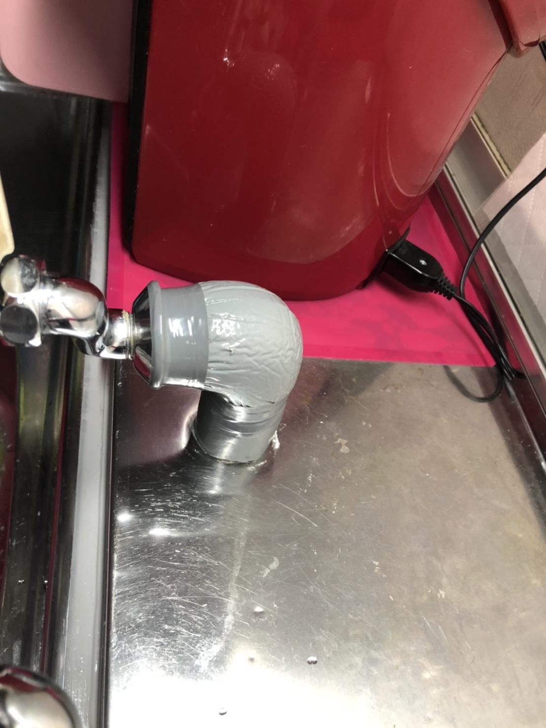 給湯管の補修