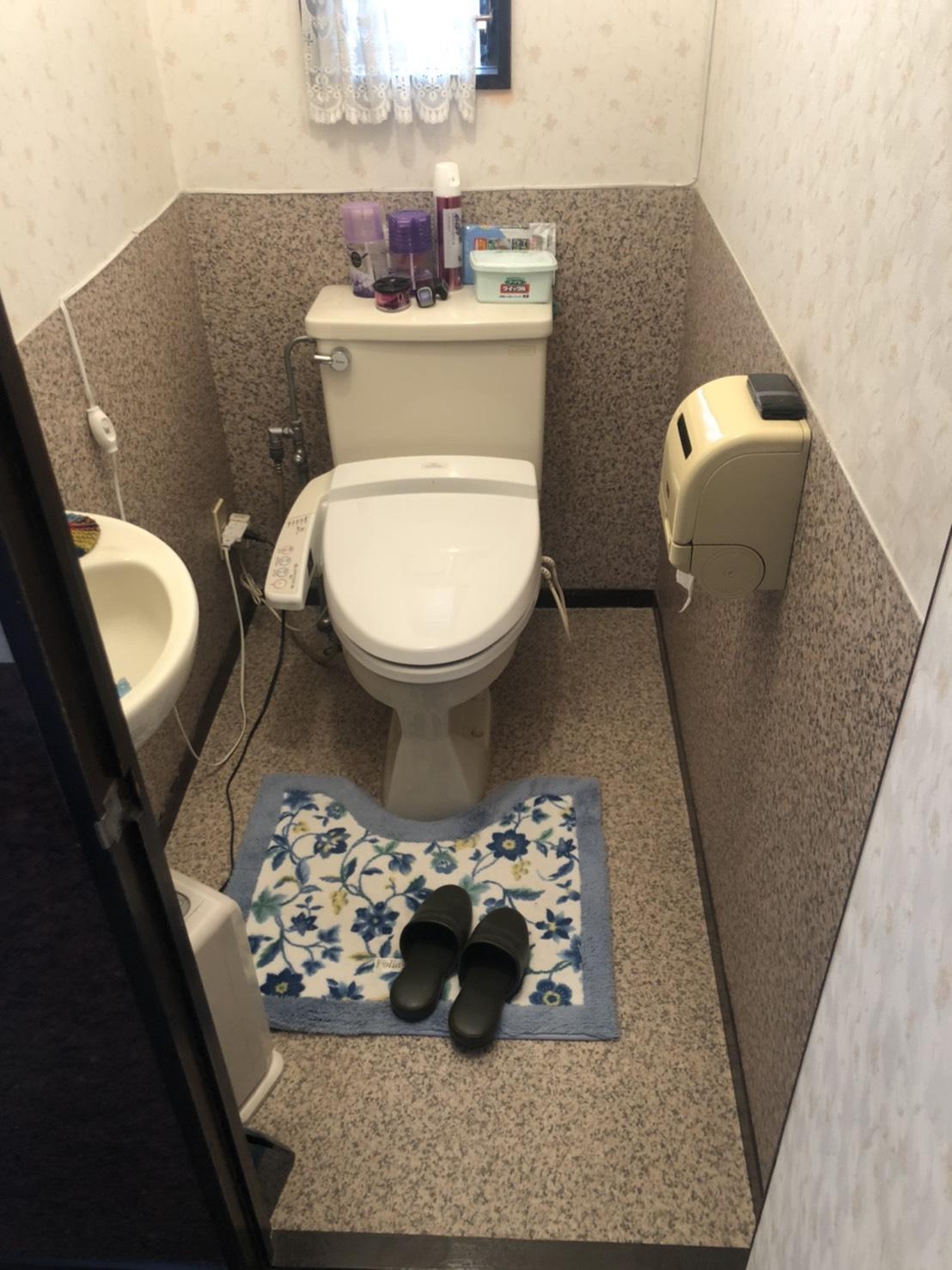 トイレ交換・クッションフロア張替え