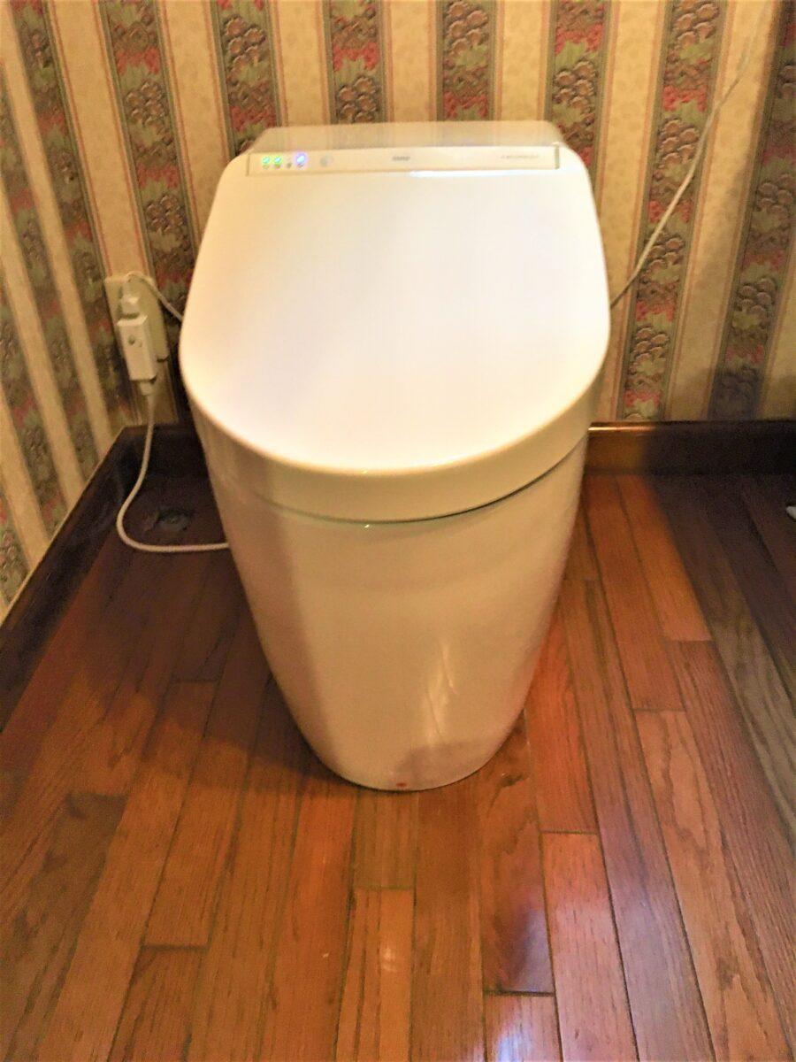 八幡西区岩崎 一体型トイレ交換 作業後