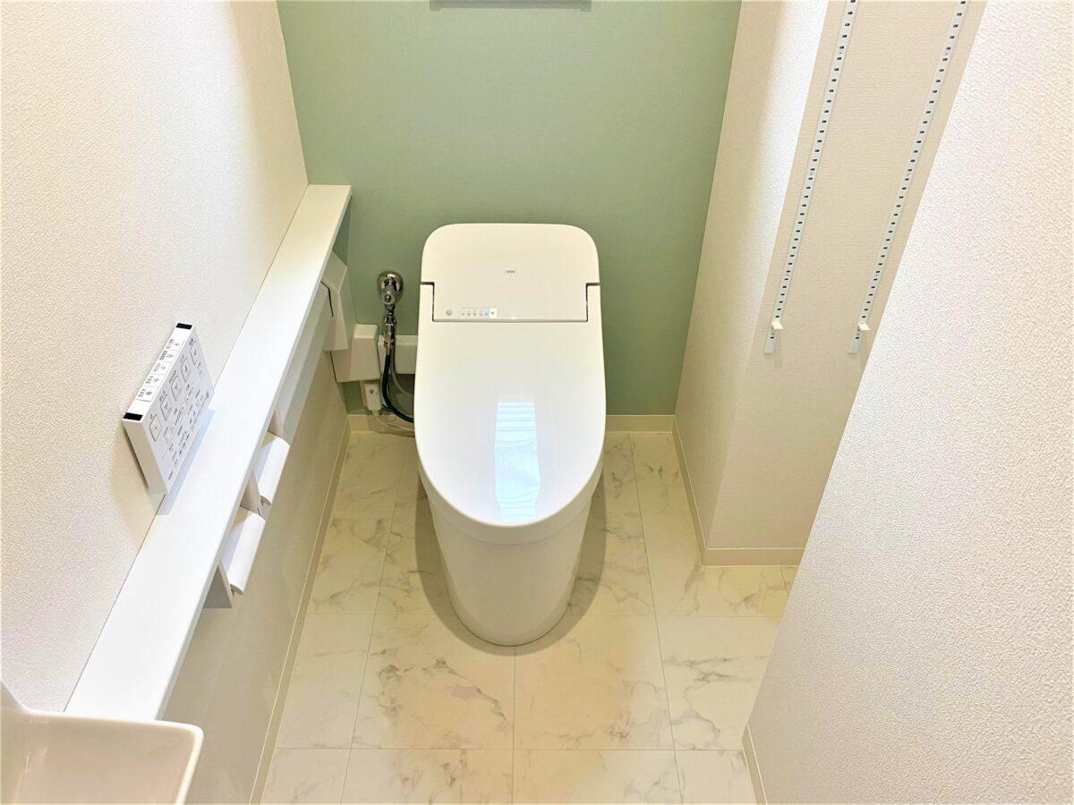 岡垣町松ケ台トイレリフォーム トイレ