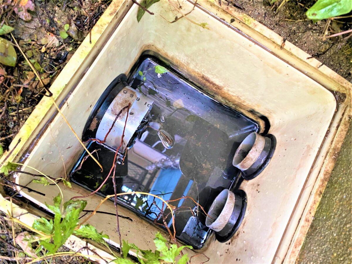 八幡西区泉ケ浦 下水詰まり解消 作業後