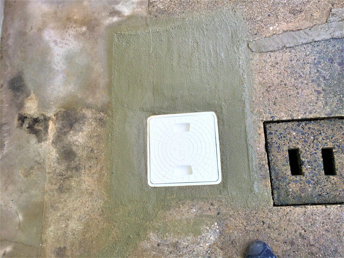 小倉北区泉台 排水ます交換 作業後2