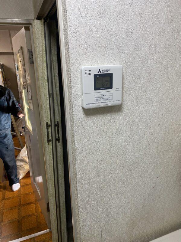 小倉北区皿山町 電気温水器交換 作業後2